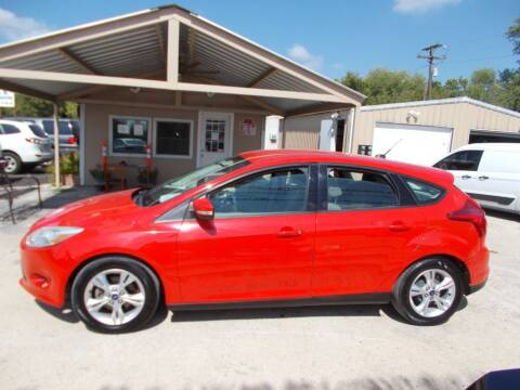2013 Ford Focus for sale at DISCOUNT AUTOS in Cibolo TX