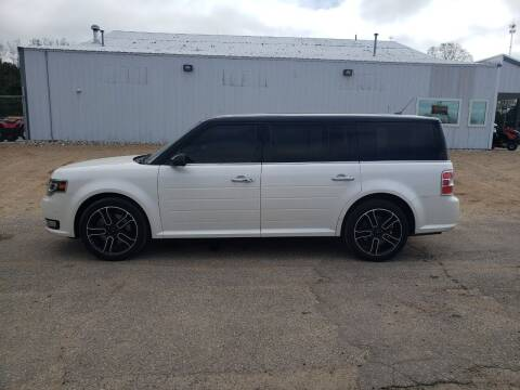 2013 Ford Flex for sale at Steve Winnie Auto Sales in Edmore MI
