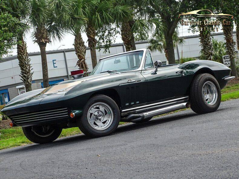 1965 Chevrolet Corvette for sale at SURVIVOR CLASSIC CAR SERVICES in Palmetto FL