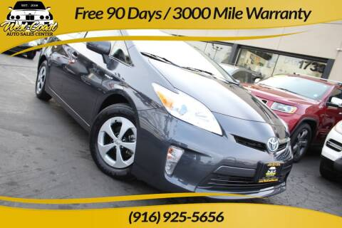 2014 Toyota Prius for sale at West Coast Auto Sales Center in Sacramento CA
