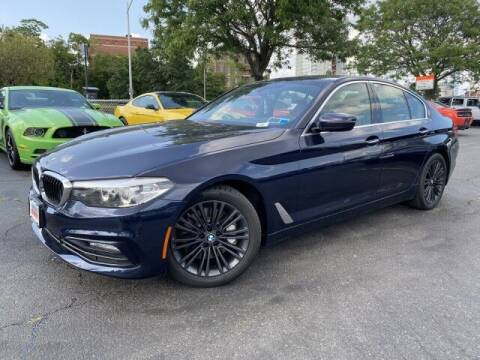 2017 BMW 5 Series for sale at Sonias Auto Sales in Worcester MA