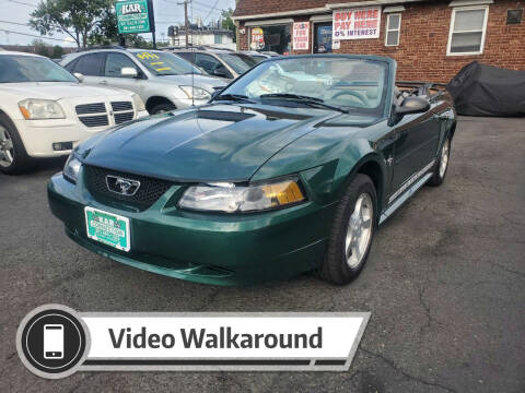 2002 Ford Mustang for sale at Kar Connection in Little Ferry NJ