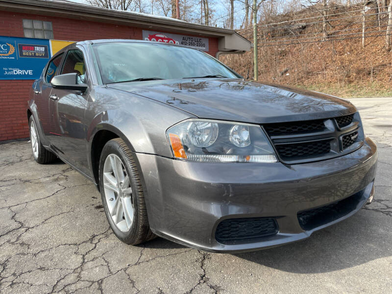 2014 Dodge Avenger for sale at Doctor Auto in Cecil PA
