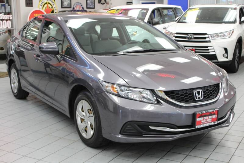 2014 Honda Civic for sale at Windy City Motors in Chicago IL