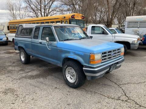 1990 Ford Ranger for sale at AFFORDABLY PRICED CARS LLC in Mountain Home ID