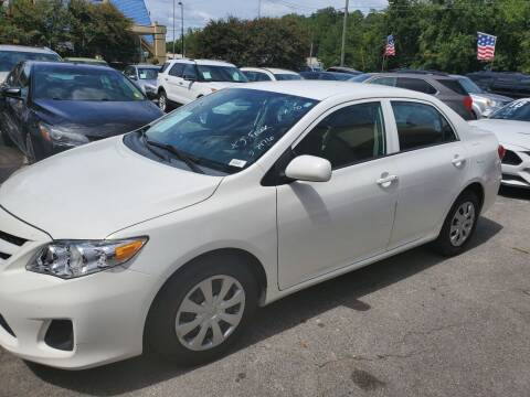 2013 Toyota Corolla for sale at J Franklin Auto Sales in Macon GA