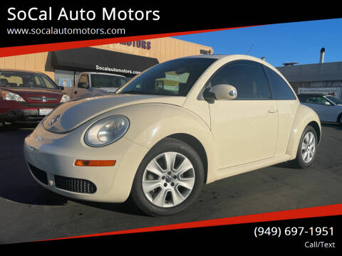 2009 Volkswagen New Beetle for sale at SoCal Auto Motors in Costa Mesa CA