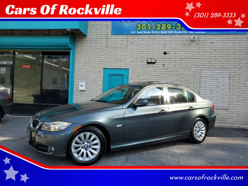 2009 BMW 3 Series for sale at Cars Of Rockville in Rockville MD