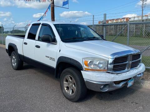 2006 Dodge Ram Pickup 1500 for sale at Affordable Auto Sales in Cambridge MN