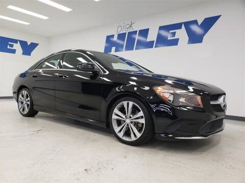 2018 Mercedes-Benz CLA for sale at HILEY MAZDA VOLKSWAGEN of ARLINGTON in Arlington TX