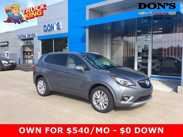 2020 Buick Envision for sale at DON'S CHEVY, BUICK-GMC & CADILLAC in Wauseon OH