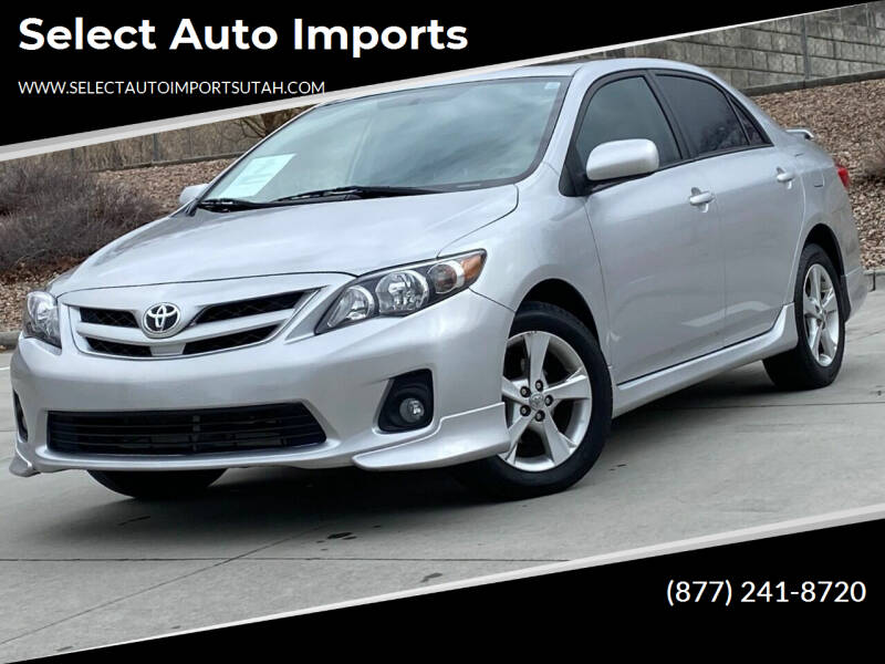 2011 Toyota Corolla for sale at Select Auto Imports in Provo UT