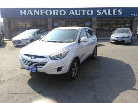 2015 Hyundai Tucson for sale at Hanford Auto Sales in Hanford CA