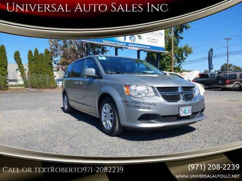 2016 Dodge Grand Caravan for sale at Universal Auto Sales Inc in Salem OR