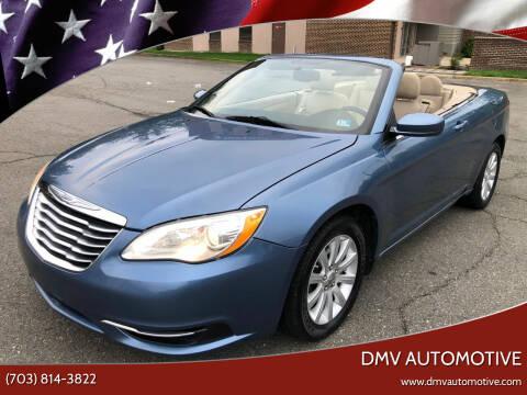 2011 Chrysler 200 Convertible for sale at DMV Automotive in Falls Church VA