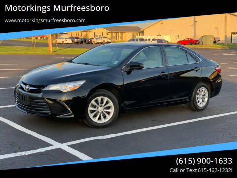 2015 Toyota Camry for sale at Motorkings Murfreesboro in Murfreesboro TN