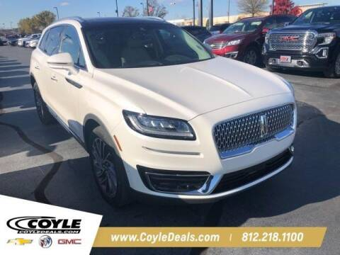 2019 Lincoln Nautilus for sale at COYLE GM - COYLE NISSAN - New Inventory in Clarksville IN