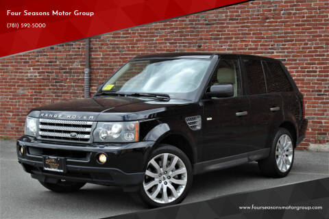 2007 Land Rover Range Rover Sport for sale at Four Seasons Motor Group in Swampscott MA