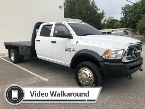 2018 RAM Ram Chassis 4500 for sale at GREENWISE MOTORS in Melbourne FL