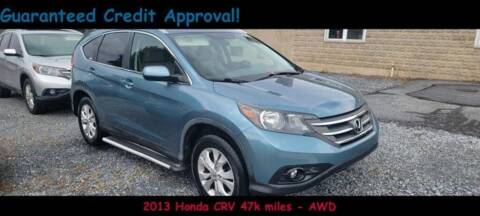 2013 Honda CR-V for sale at Fortnas Used Cars in Jonestown PA