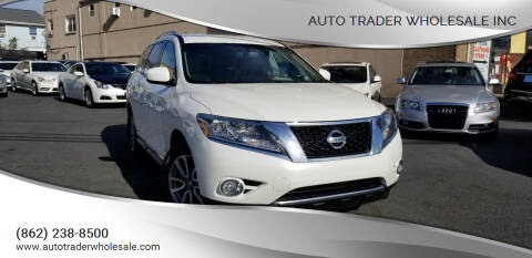 2016 Nissan Pathfinder for sale at Auto Trader Wholesale Inc in Saddle Brook NJ