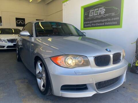 2009 BMW 1 Series for sale at GCR MOTORSPORTS in Hollywood FL