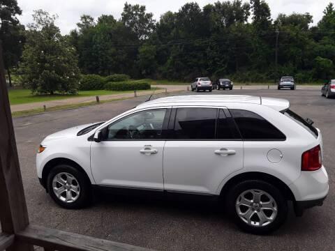 2014 Ford Edge for sale at WALKER MOTORS LLC in Hattiesburg MS