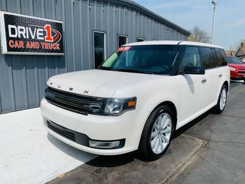 2015 Ford Flex for sale at Drive 1 Car & Truck in Springfield OH
