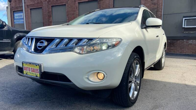 2010 Nissan Murano for sale at Rocky's Auto Sales in Worcester MA