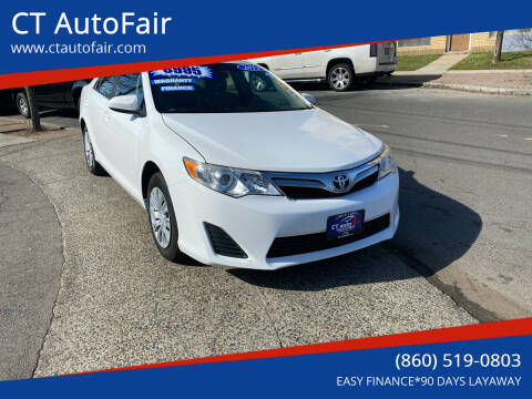 2013 Toyota Camry for sale at CT AutoFair in West Hartford CT