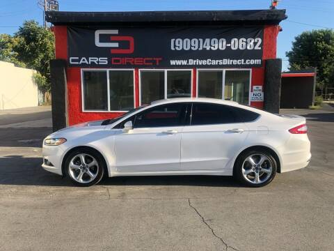 2016 Ford Fusion for sale at Cars Direct in Ontario CA