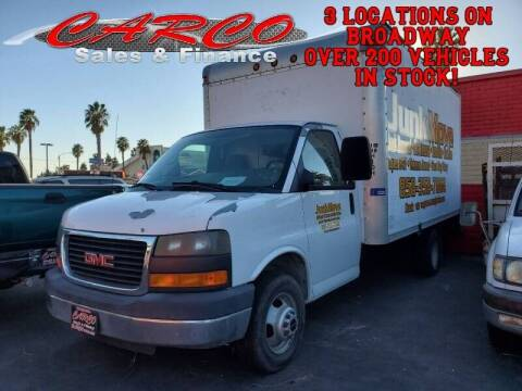 2007 GMC Savana Cutaway for sale at CARCO SALES & FINANCE #2 in Chula Vista CA