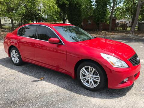 2011 Infiniti G37 Sedan for sale at Cherry Motors in Greenville SC
