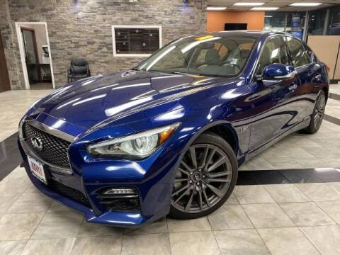 2016 Infiniti Q50 for sale at Sonias Auto Sales in Worcester MA