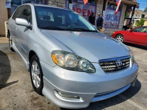 2007 Toyota Corolla for sale at USA Auto Brokers in Houston TX