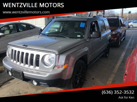 2014 Jeep Patriot for sale at WENTZVILLE MOTORS in Wentzville MO