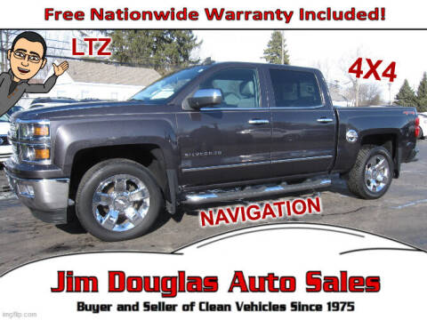 2015 Chevrolet Silverado 1500 for sale at Jim Douglas Auto Sales in Pontiac MI