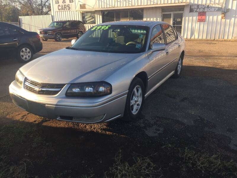 2005 Chevrolet Impala for sale at B & B CARS llc in Bossier City LA