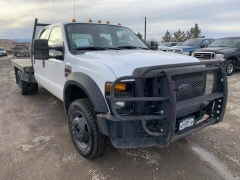2008 Ford F-550 Super Duty for sale at BERKENKOTTER MOTORS in Brighton CO
