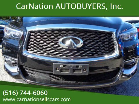 2016 Infiniti QX60 for sale at CarNation AUTOBUYERS, Inc. in Rockville Centre NY