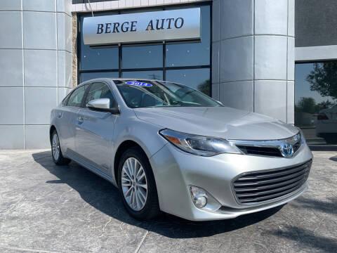 2014 Toyota Avalon Hybrid for sale at Berge Auto in Orem UT