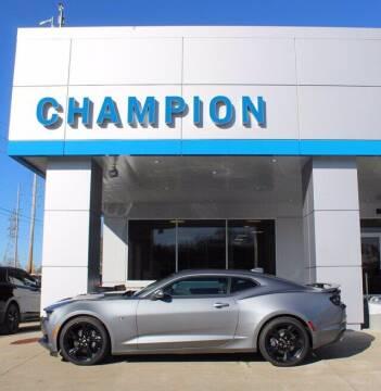 2021 Chevrolet Camaro for sale at Champion Chevrolet in Athens AL