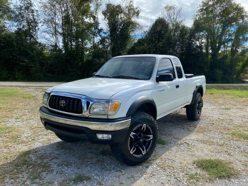 2002 Toyota Tacoma for sale at Tennessee Valley Wholesale Autos LLC in Huntsville AL