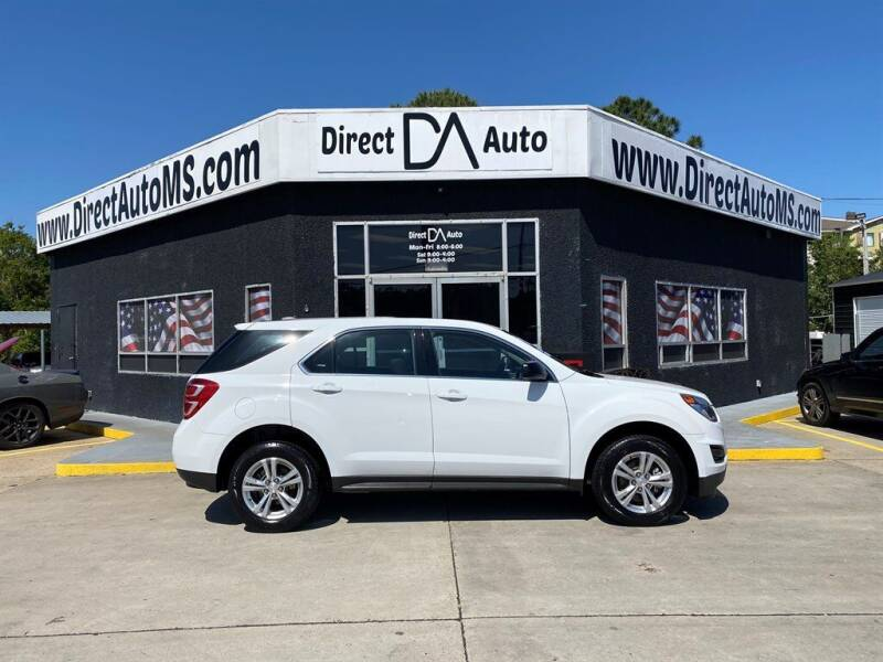 2017 Chevrolet Equinox for sale at Direct Auto in D'Iberville MS