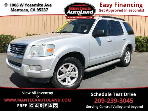 2010 Ford Explorer for sale at Manteca Auto Land in Manteca CA