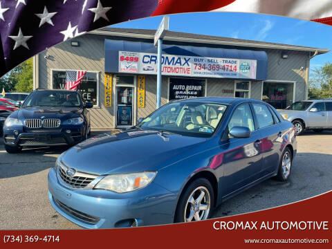 2009 Subaru Impreza for sale at Cromax Automotive in Ann Arbor MI