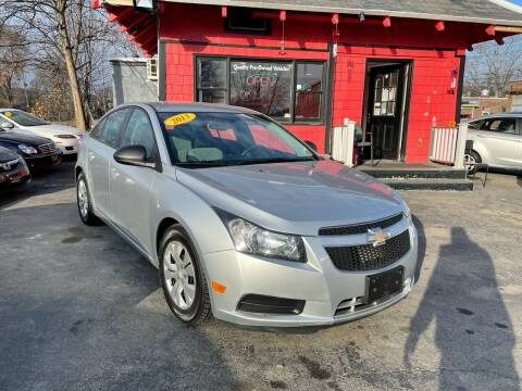2013 Chevrolet Cruze for sale at Mass Auto Exchange in Framingham MA