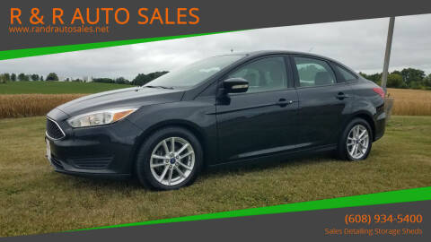 2015 Ford Focus for sale at R & R AUTO SALES in Juda WI