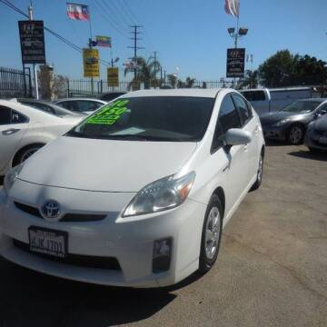 2010 Toyota Prius for sale at Luxor Motors Inc in Pacoima CA