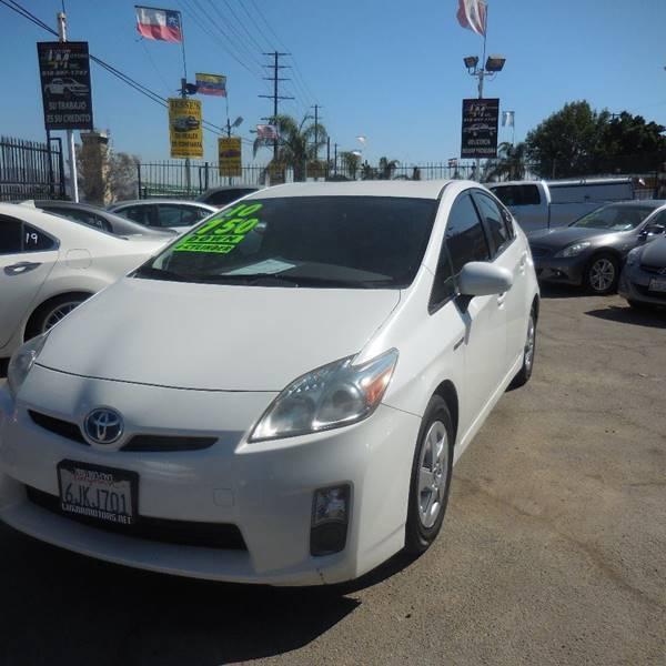 2010 Toyota Prius for sale at Luxor Motors Inc in Pacoima CA